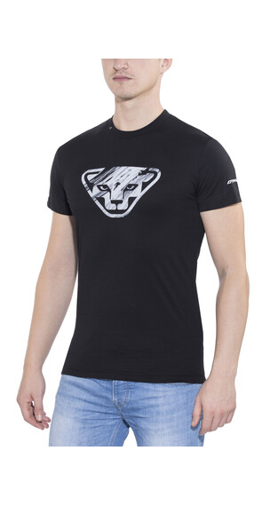 Dynafit First Track CO SS Tee Men black/leopard